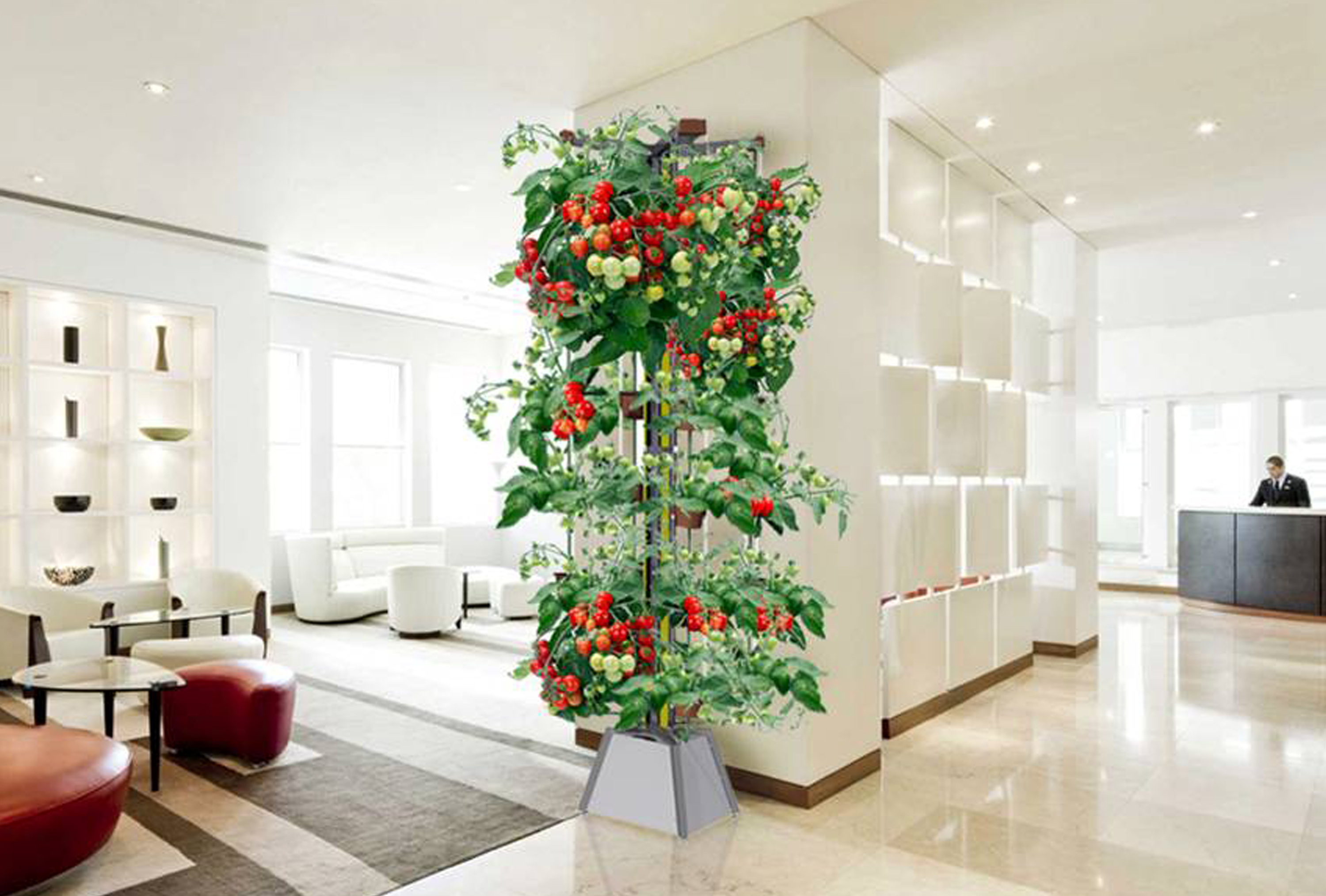Home/Office Gardening System- Nutri-Tower